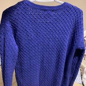 Blue Knot Sweater